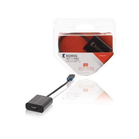 ADATTATORE USB-C Maschio - HDMI Femmina