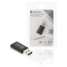 ADATTATORE WIRELESS USB N300 2.4 GHz Wi-Fi