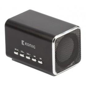 ALTOPARLANTE MP3 PORTATILE NERO