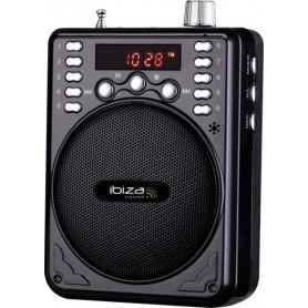 AMPLIFICATORE VOCALE PORTATILE CON PLAYER MP3 USB 15-6065