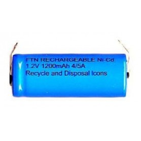 BAT. RICARICABILE NI-CD 4 QUINTI A 1,2V 1200mAh