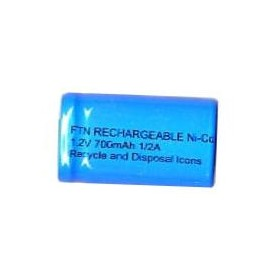 BAT. RICARICABILE NI-CD 4 QUINTI SUB-C 1,2V 1200mAh