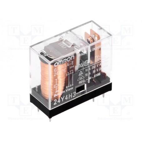 24VDC 16A-380VAC RELAIS 1 WECHSLER OMRON G2R1E-24DC