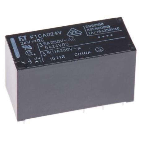 24VDC 5A-250VAC RELAIS 2 COMMUT. PRINT