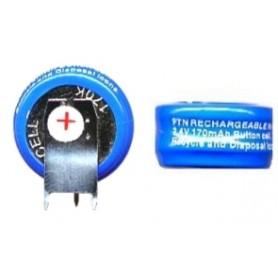 BATTERIA RICARICABILE NI-CD 2,4V 170mAh C.S.
