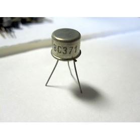 BC371 - transistor si-p 60v 1a 0,85w