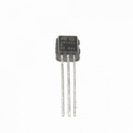 2N 7000 - MOSFET  0,2A 60V N-CHANNEL
