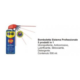BOMBOLETTA SPRAY SISTEMA PROFESSIONALE DA 500 ML