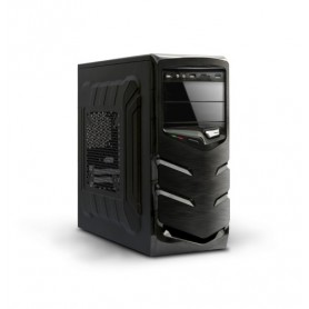 CABINET ATX 600W MIDI TOWER ATLANTIS WL01-A66 MOD.ARIA A66 NERO