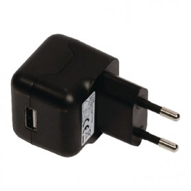 CARICABATTERIE AC USB - USB A FEMMINA 2,1A
