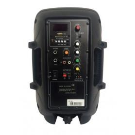 Cassa acustica amplificata 150W max con batteria - bluetooth - SD-USB - radio