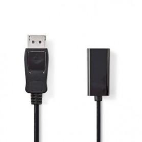 CAVO DisplayPort maschio - HDMI femmina  0,2mt