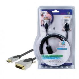 CAVO HDMI TIPO A MASCHIO DVI-D 18+1 PIN MASCHIO 1,5mt