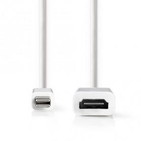 CAVO MINI DISPLAYPORT MASCHIO - HDMI™  0.2mt