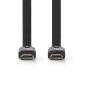 CAVO PIATTO HDMI™ AD ALTA VELOCITA\' CON ETHERNET 4K 10mt