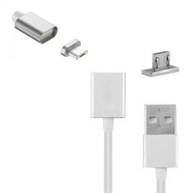 CAVO USB - MICRO USB CON CONNETTORE MAGNETICO