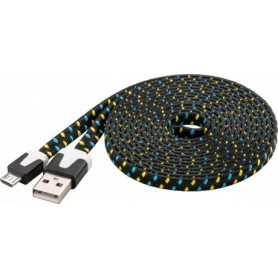 CAVO USB 2.0 MICRO USB TELATO 2 mt