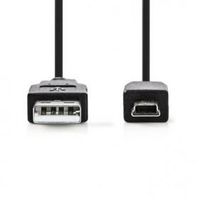 CAVO USB 2.0 USB A Maschio - MINI 5-Pin Maschio 2mt