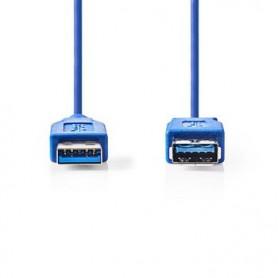 CAVO USB 3.0 A maschio - A femmina  2 mt  Blu