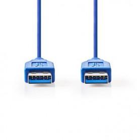 CAVO USB 3.0 A maschio - A maschio 2 mt  Blu