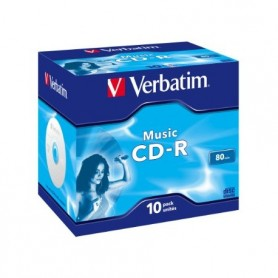 CD-R AUDIO 80MIN VERBATIM MUSIC LIFE PLUS