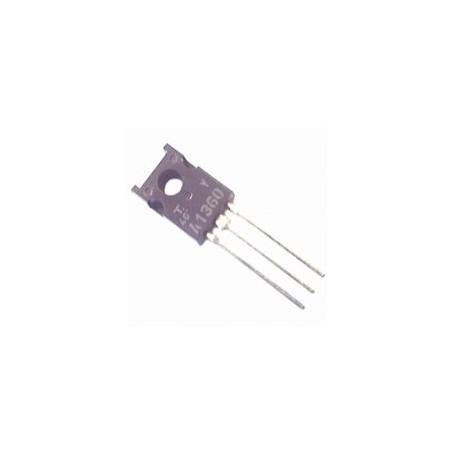 2SA1360 - si-p 150v 0,05a 5w