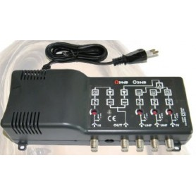 CENTRALINA ANTENNA AUTOALIMENTATA 117 dBuV-4 ING.