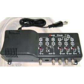 CENTRALINO 117 dBµV - 4 IUG.REG.22 dB - III-IV-V-UHF