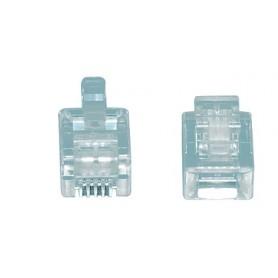 CONNETTORE MODULARE  RJ11 4-6