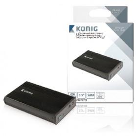 CONTENITORE DISCO RIGIDO 3.5  SATA USB 3.0
