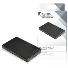 CONTENITORE DISCO RIGIDO SATA DA 2,5 CON USB 3.0