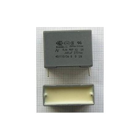 0,68UF-275V X2 CONDENSATORE ANTIDISTURBO 10%