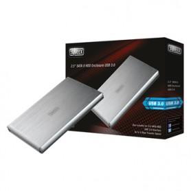 CONTENITORE PER HARD DISK CON USB 3.0 E SATA II DA 2,5