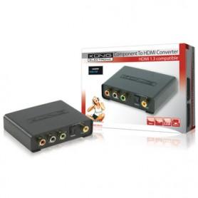 CONVERTITORE DA  COMPONENT + AUDIO A HDMI