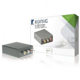 CONVERTITORE HDMI 3x RCA FEMMINA - USCITA HDMI