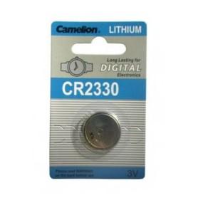 CR2330 3,0V LITHIUM BATTERIA BOTTONE 1PZ