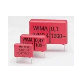 0,68UF-630V MKS4-CONDENSATORE RM=27,5mm