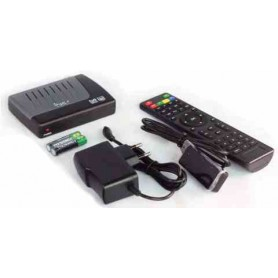 DECODER SATELLITARE HD CON DISPLAY SEPARATO DVB-S2 HD Free