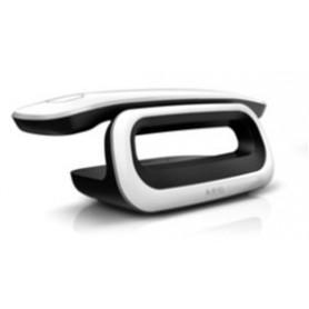 Dect design, colore bianco- LCD numerico- tastiera standard- 5 suonerie polifon