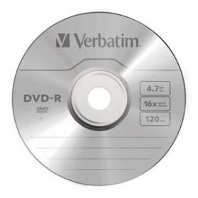 DVD-R MATT SILVER 4.7 GB