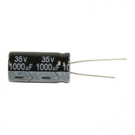 ELETTROLITICO 1000 µF - 35 V  RADIALE 105°