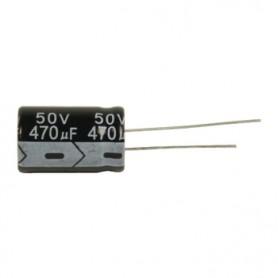 ELETTROLITICO 470 µF - 50 V   RADIALE 105°