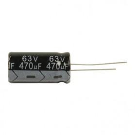 ELETTROLITICO 470 µF - 63 V   RADIALE 105°
