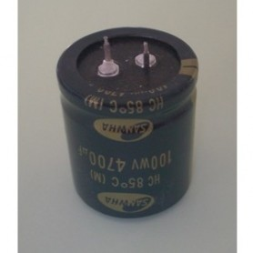 ELETTROLITICO 4700 µF - 100 V RADIALE SNAP-IN 105°