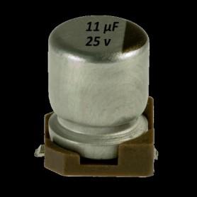 Elettrolittico 10 µf - 25 V SMD