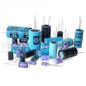 Elettrolittico 4.7 µF - 10 V   Radiale 105°