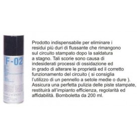 F-02 Spray Anti Flussante 200ml