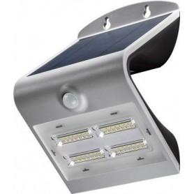 FARETTO LED AD ENERGIA SOLARE CON SENSORE DI MOVIMENTO 3,2 W