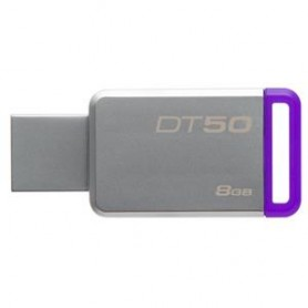 FLASH DRIVE USB3.0 8GB KINGSTON DT50-8GB METAL