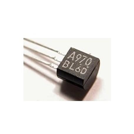 2SA970 - si-p nf 120v 0.1a 100mhz